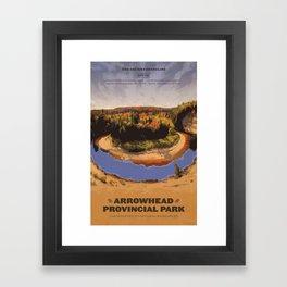 Arrowhead Provincial Park Framed Art Print