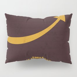 Lab No. 4 -Smile, it increases your face value corporate start-up quotes Pillow Sham
