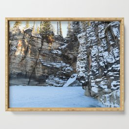 Lower Athabasca Falls, Canada Serving Tray
