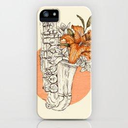 Love songs iPhone Case
