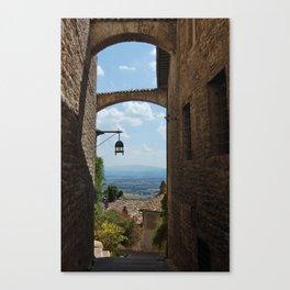 portals .:. assisi Canvas Print