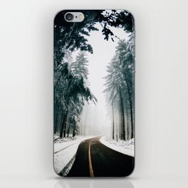 The Winter Trail (Color) iPhone Skin