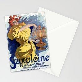 Kerosene oil  by Jules Cheret Stationery Cards