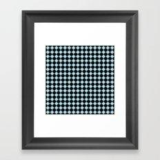 Black Diamonds (Smaller Print) Framed Art Print
