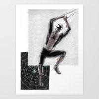 Web slinger Art Print