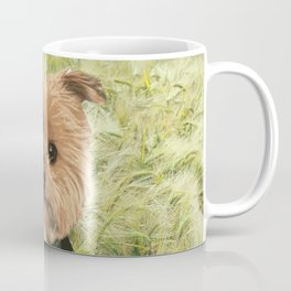 Kiss me I'm Irish | Yorkie Giraffe | Yorkies | Dogs | nbKiss Coffee Mug