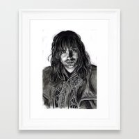 kili Framed Art Prints featuring Kili by laya rose