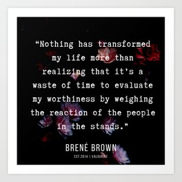31   | Brene  Brown Quotes  | 190717 | Art Print