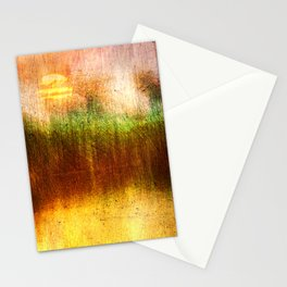 Concept Digital painting : The lake Stationery Cards
