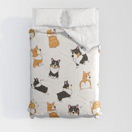 Corgi Pawty Comforters