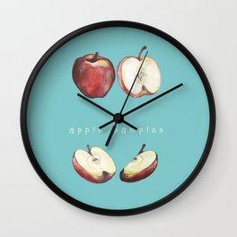 Apple Samples. Wall Clock