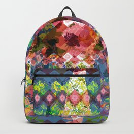 The Geometry of a flower Backpack