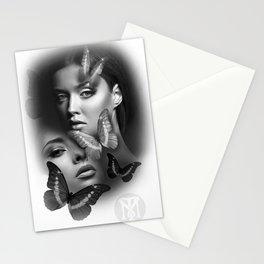 Butterfly girls Stationery Cards