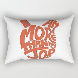 Job =/= Self Rectangular Pillow