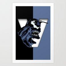 The Amazing: V Art Print