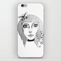 fairies iPhone & iPod Skins featuring Fairies by Bambi-boo