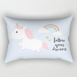 Follow your dreams Rectangular Pillow