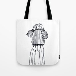 Dressing/undressing Tote Bag