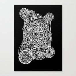 Mandala of deep meditation Canvas Print