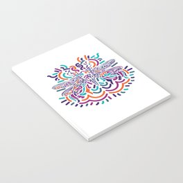 Colorful Fly Notebook