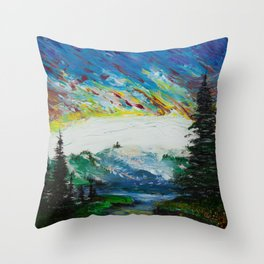 The last day on Earth Throw Pillow