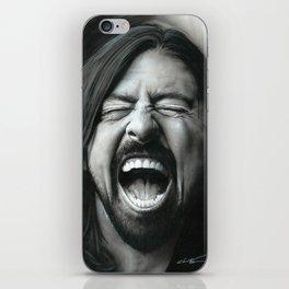 'Grohl In Black III' iPhone Skin