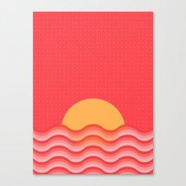 Patterned 3B Canvas Print