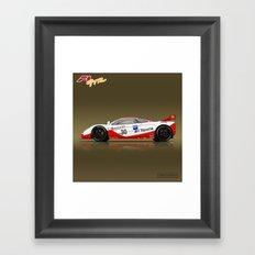 1996 McLaren F1 GTR #03R Framed Art Print