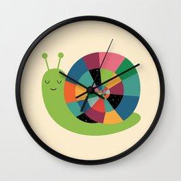 Snail Time Wall Clock