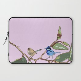 Splendid Fairy-wren Malurus splendens Laptop Sleeve