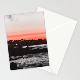 The red ink seems to be leaking again. Stationery Cards