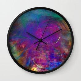 Slimar fractal Wall Clock