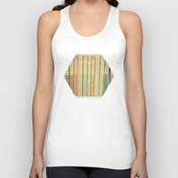 books Tank Tops featuring Old Books by Cassia Beck