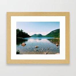 Jordan Pond - Acadia National Park Framed Art Print