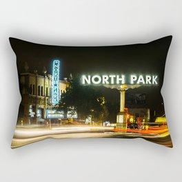 North Park (San Diego) Sign - SD Signs Series #1 Rectangular Pillow
