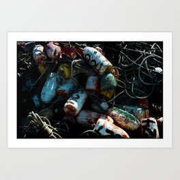 Tied Up In Knots Art Print