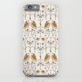 Goldfinch & Hummingbird iPhone Case