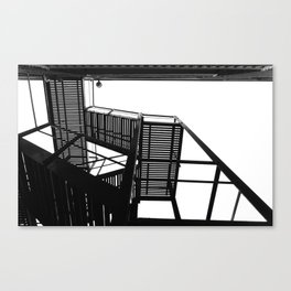 Shoots and ladders Canvas Print