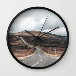 Cairngorms national park view Wall Clock
