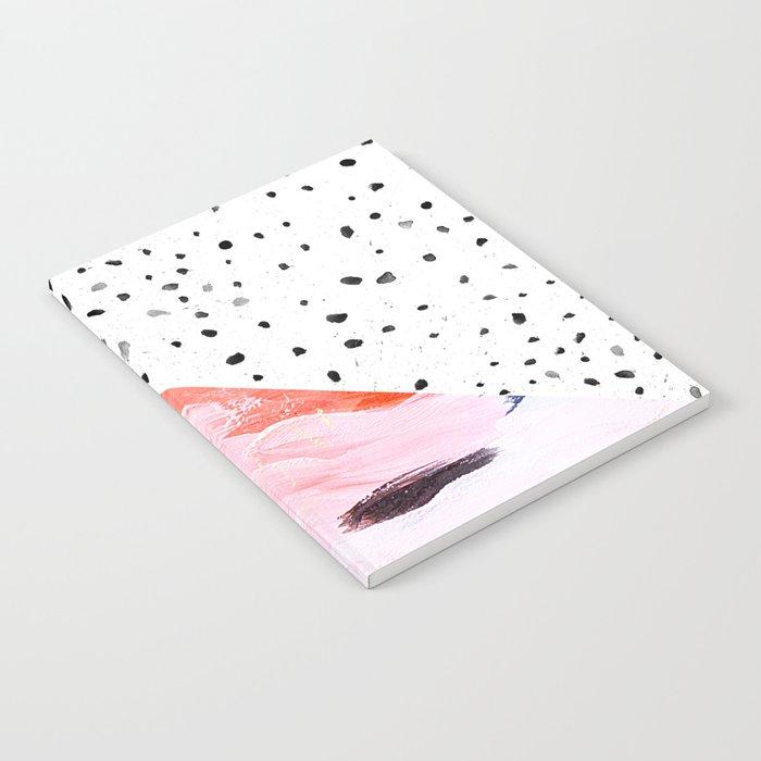 Polka Dots & Paint Notebook
