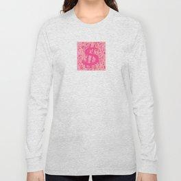 Pink Dollar Signs Long Sleeve T-shirt