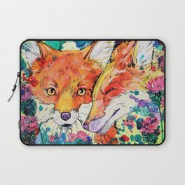 In the Thistles Laptop Sleeve