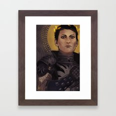 Cass Framed Art Print