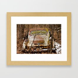 From Behind Framed Art Print