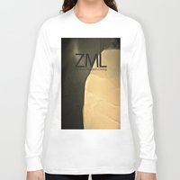 tomb raider Long Sleeve T-shirts featuring Tomb by ZML Zealous Modern Living