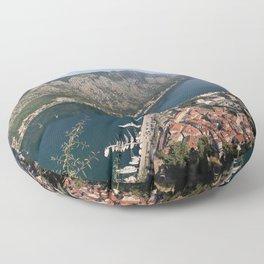 Kotor bay Floor Pillow