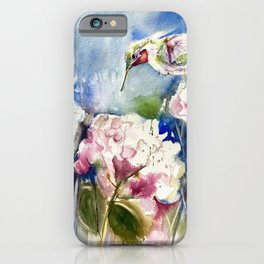 Vickie's Hummingbird iPhone Case