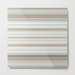 Classic stripes pattern Metal Print