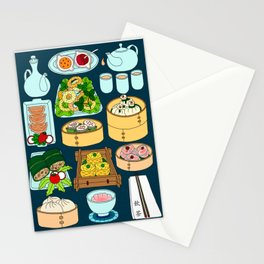 Dim Sum Lunch Stationery Cards