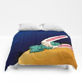 Sleeping Toki Comforters